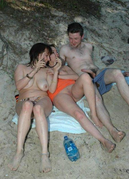 Подсмотр порно на пляже