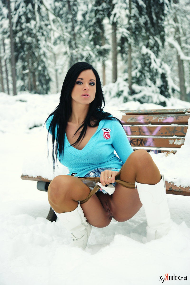 Секс наулице зимой 7 фотография