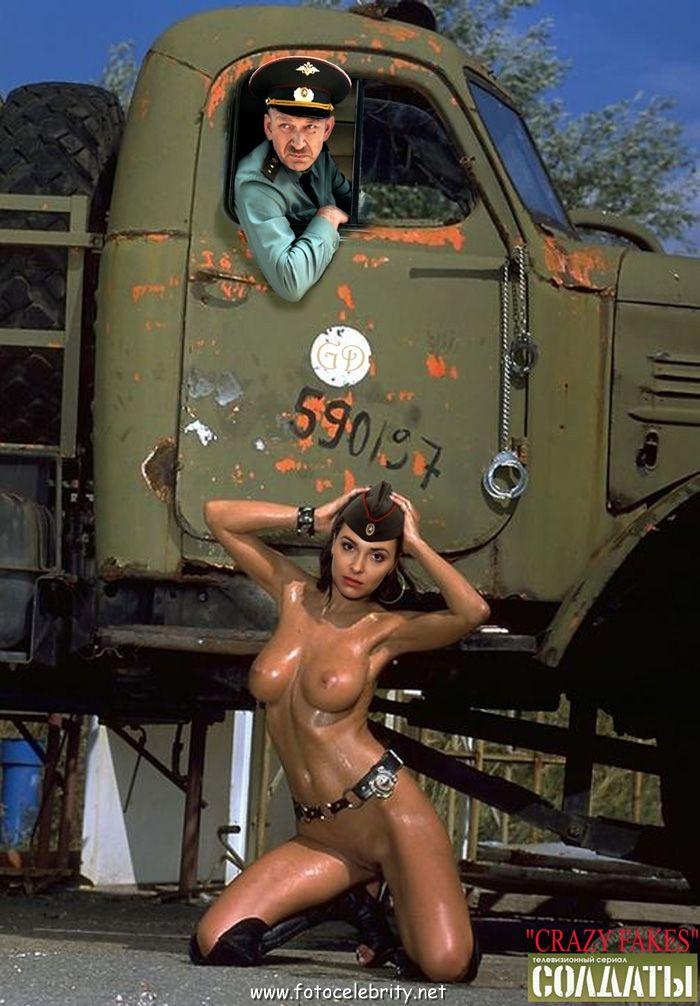 Порно солдаты и девушка
