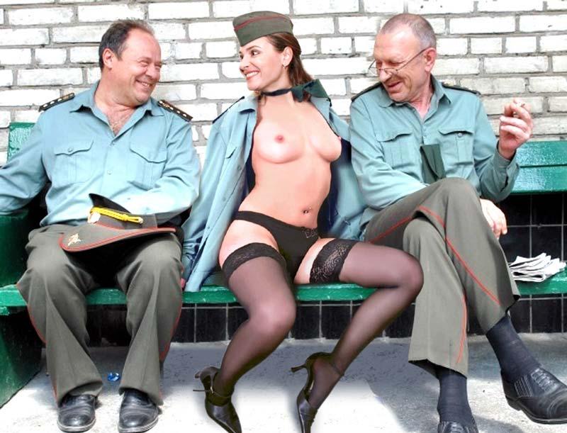 Порно измена солдаты