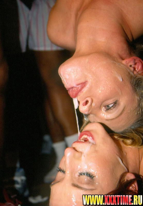 Двух телок накачали спермой фото 607-426