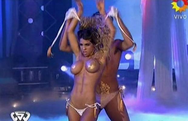 Порно танцы со зв здами