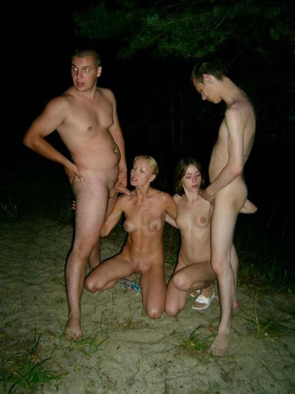 Студенты развлекаются в лесу порно — 14