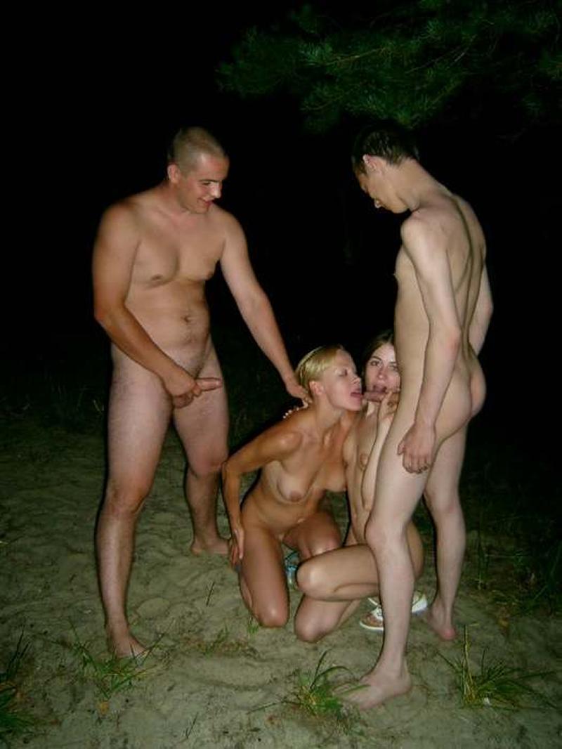 Секс русских студентов на пикниках 12 фотография