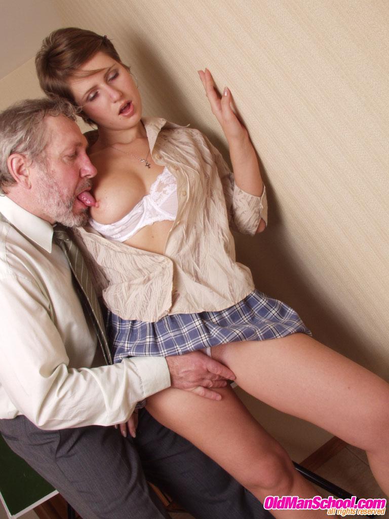 Секс преподаватель и ученица