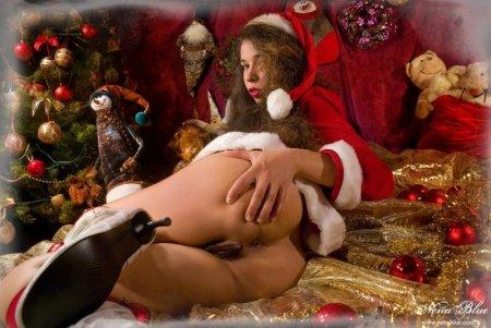 Развратные порно снегурочки на Новый 2013 год! (ФОТО)