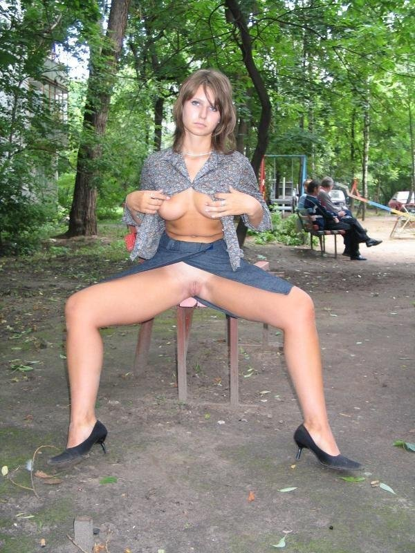 Парке русская проститутка в