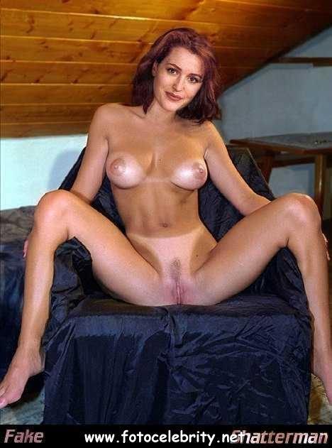 скалли актриса порно фото