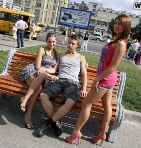 порно русский пикап две девушки сняли парня