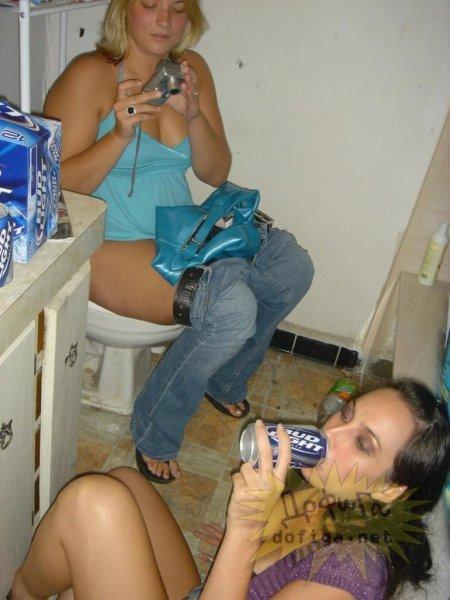 Бесстыжие пьяные студентки (ФОТО)