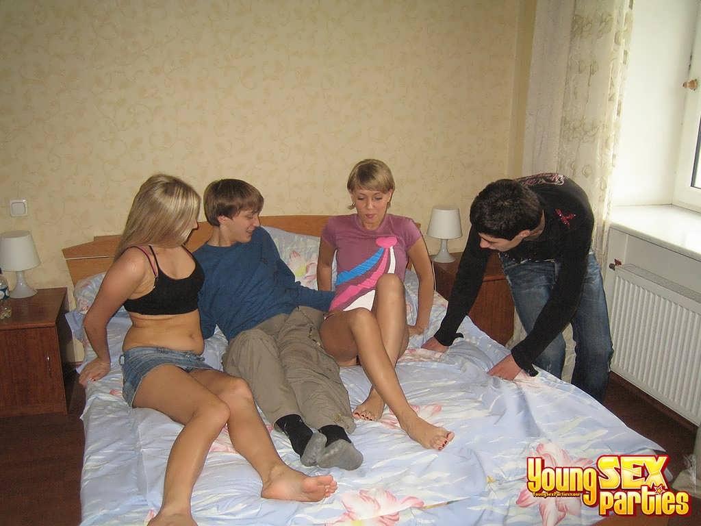 Порно-фото Молоденьких Свингеров