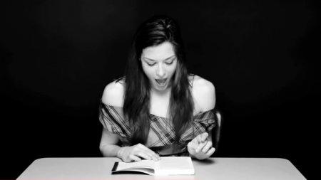 Истерическая литература или чтение с вибратором (ВИДЕО)