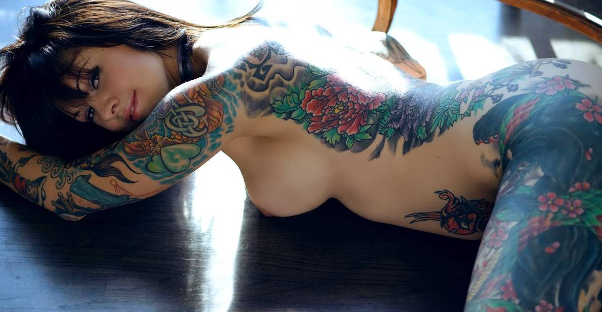 Light Sexy Body Woman Skin Nude Tattoo Spyfam 1