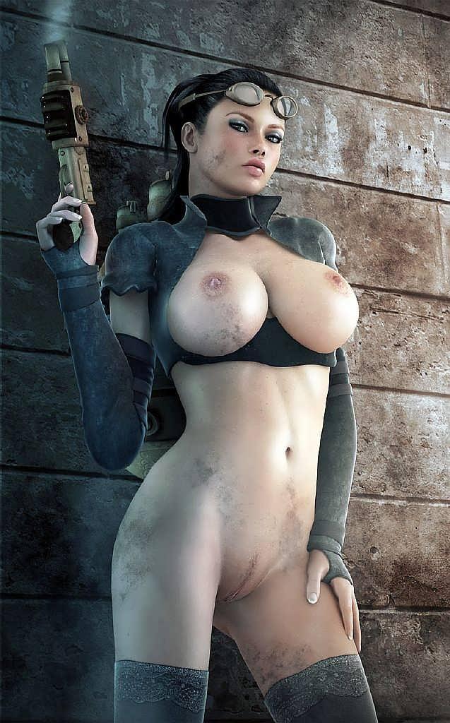 рисованные голые девушки большие