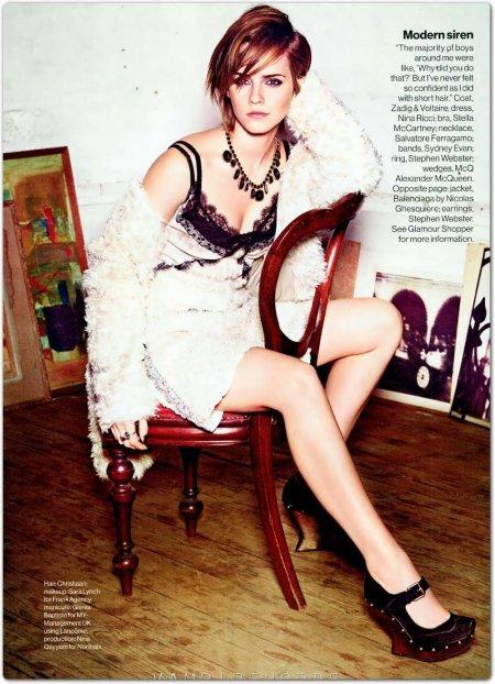 Эмма Уотсон - провокационные фотографии звезды