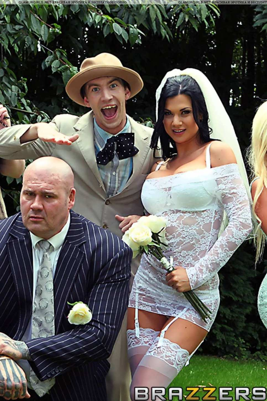 Порно невесту ебут групавую