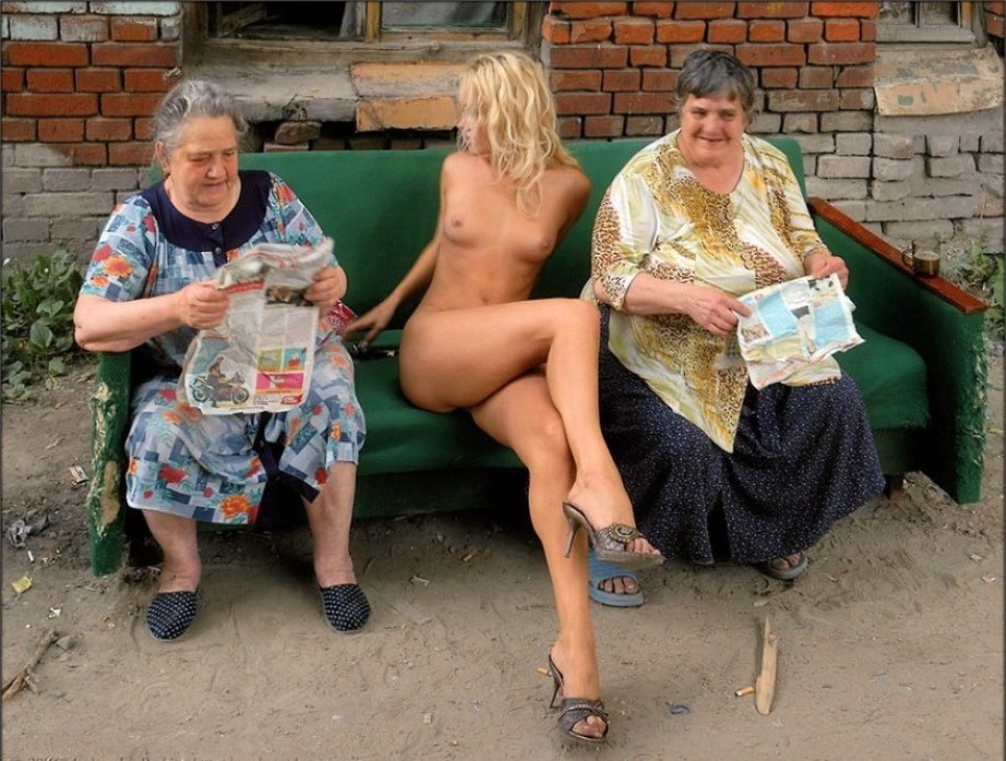 Бабушка на секс улица фото
