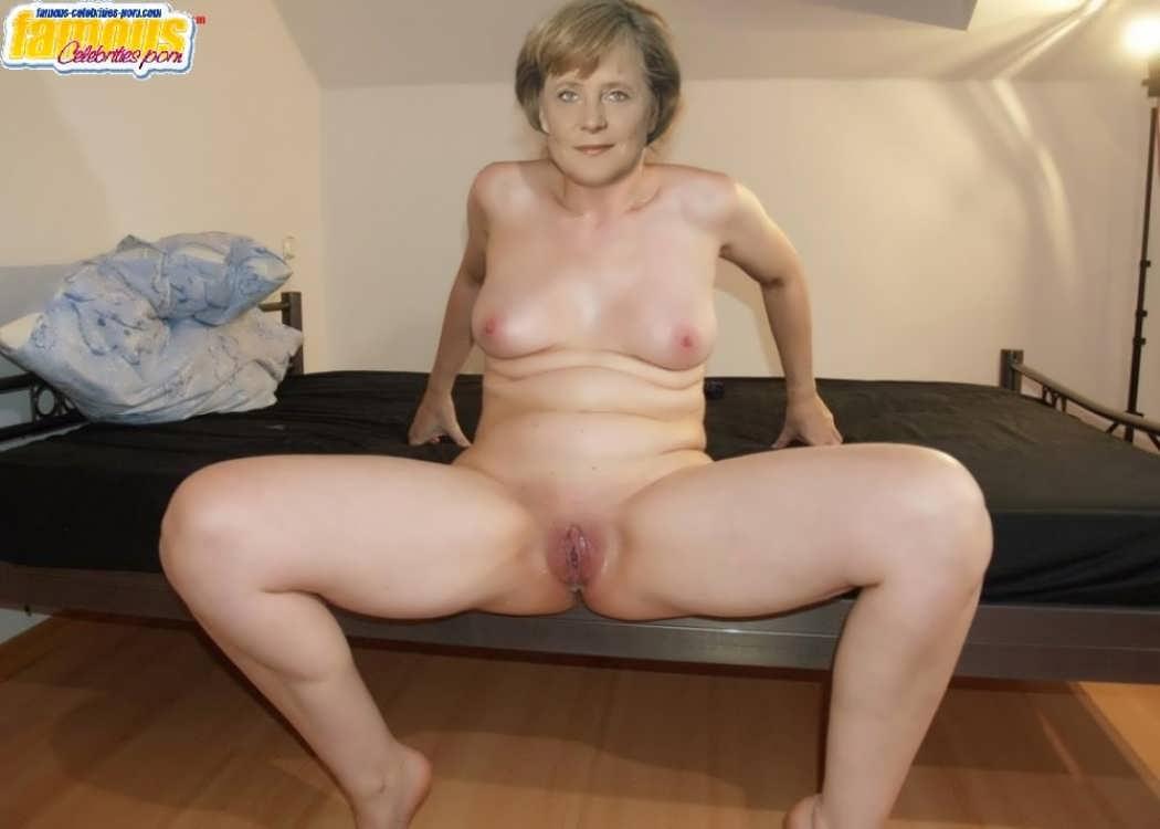 Старая развратница Ангела Меркель (ФОТО) .