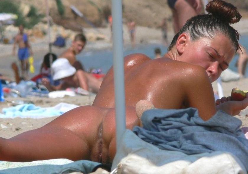 случайные порно фото на пляже