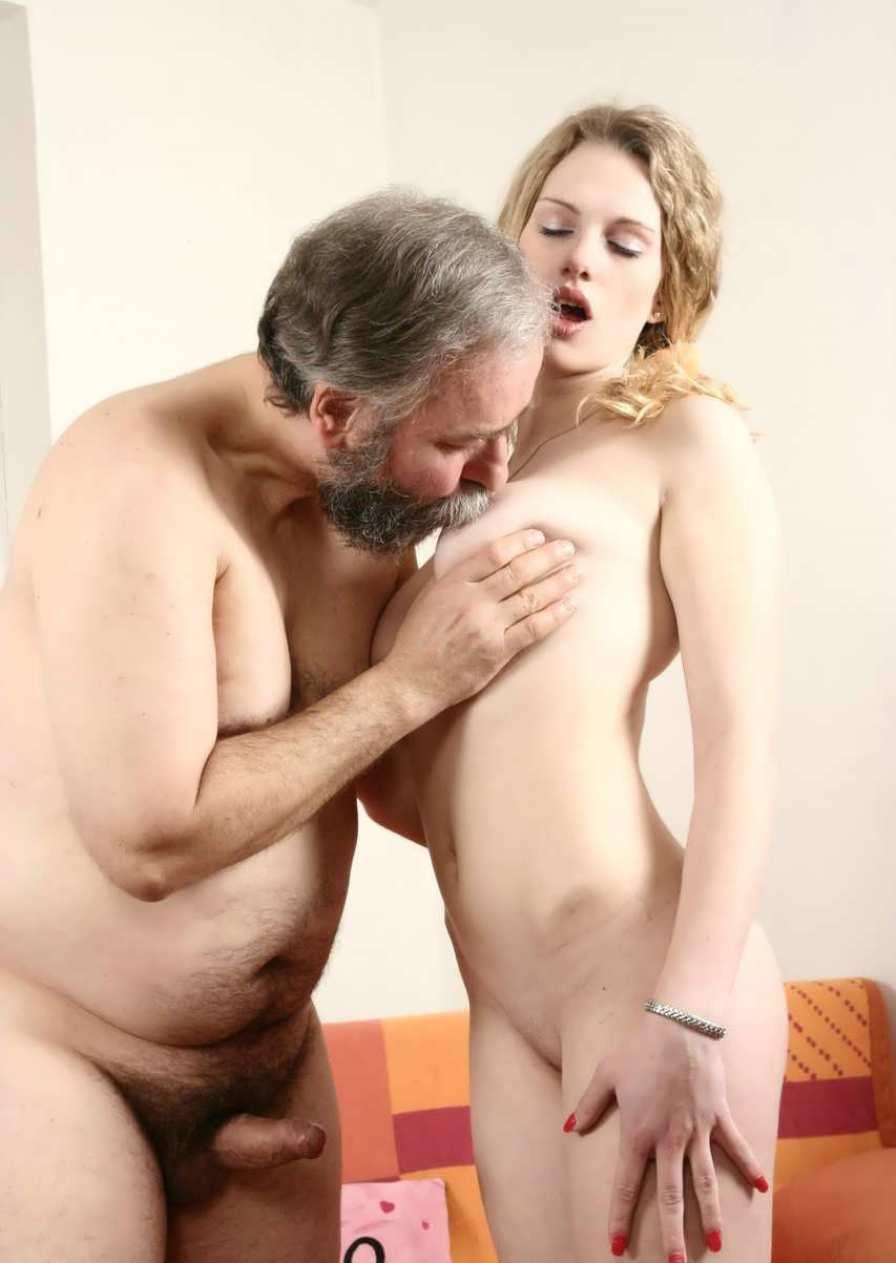 Дед и телка sex