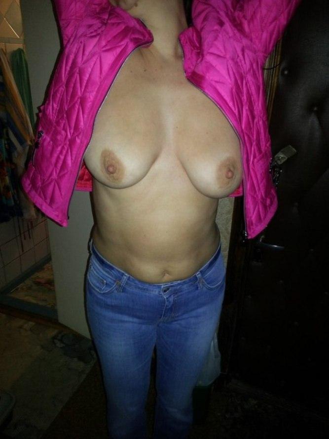 грудь жены на фото-пи2