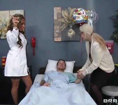 Медсестра трахнула пациента и выставила его жену (HD ВИДЕО)