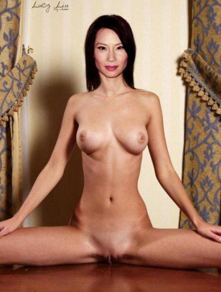 Актриса Люси Лиу снялась в порно (ФОТО)