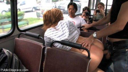 Публичный секс  порно видео снятое на публике