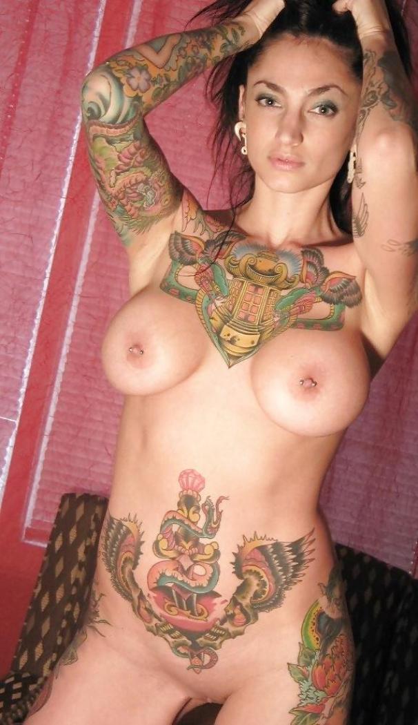Секс девушка татуировки