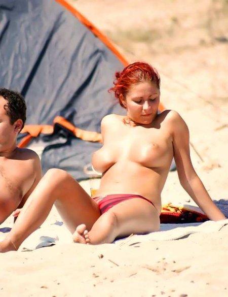 Пляжный нудизм в чистом виде (ФОТО)