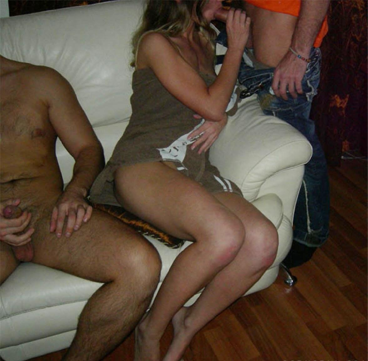 В свингер клуб с женой