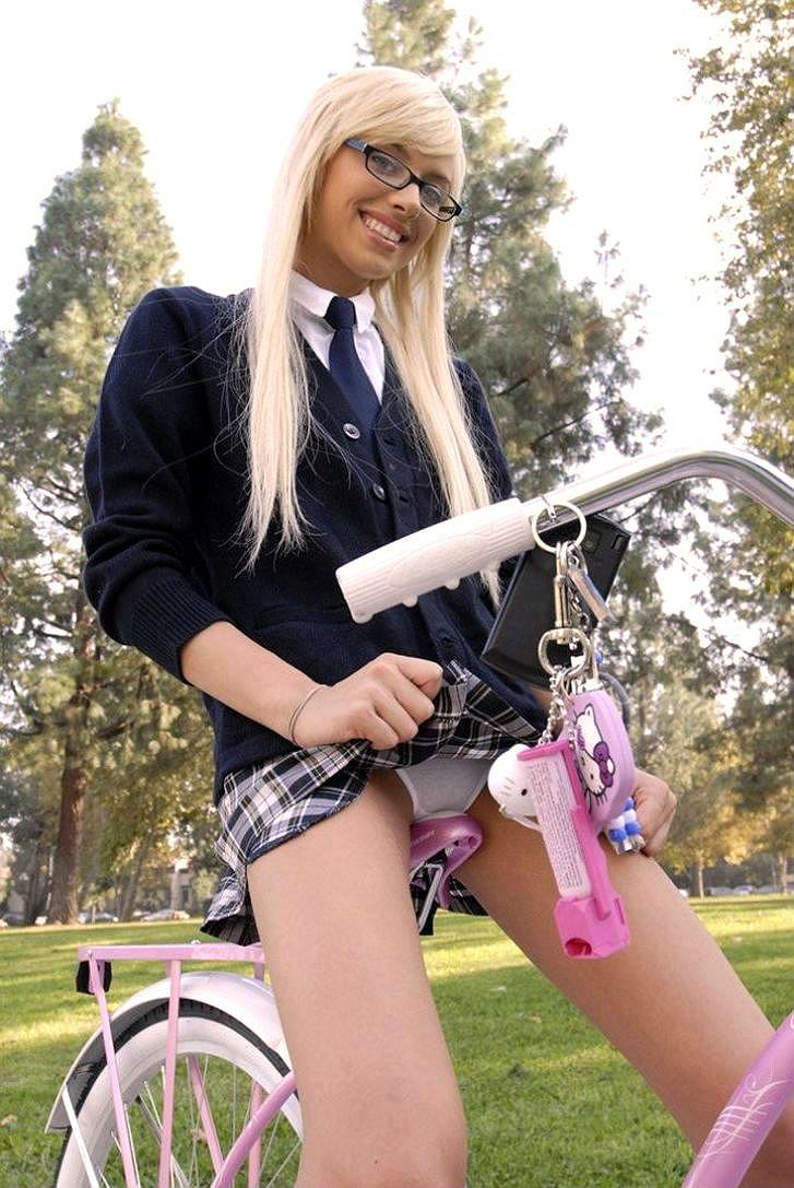 Видео оргазм велосипедисток