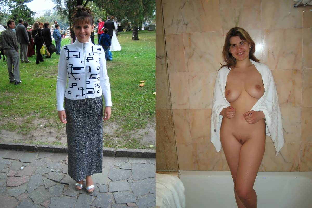 В раздетые и возрасте женщины одетые
