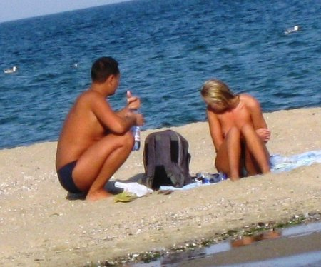 Улов за день с укропского пляжа (ФОТО)