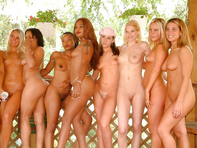Lots of nude girls