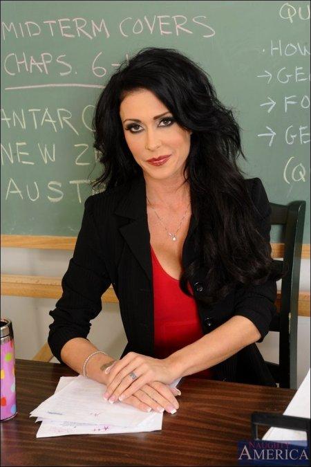 Моя учительница в красном (ФОТО)