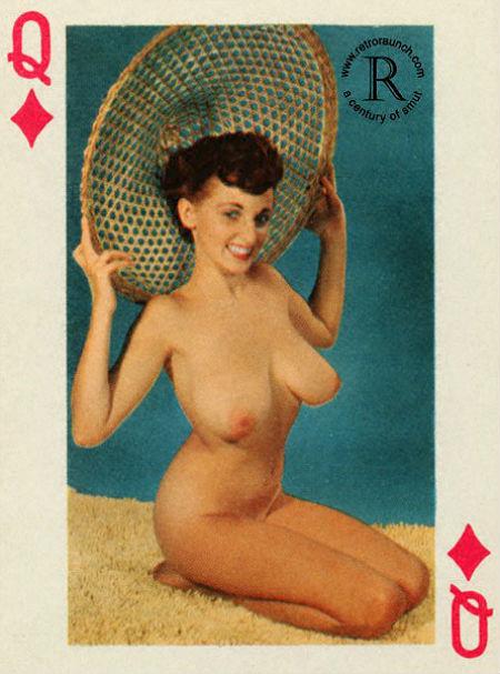 Винтажные игральные карты с голыми бабами (ФОТО)