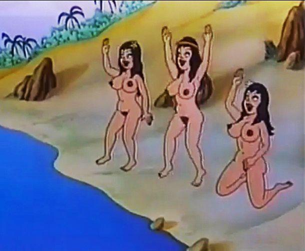 Порно анимация сказки