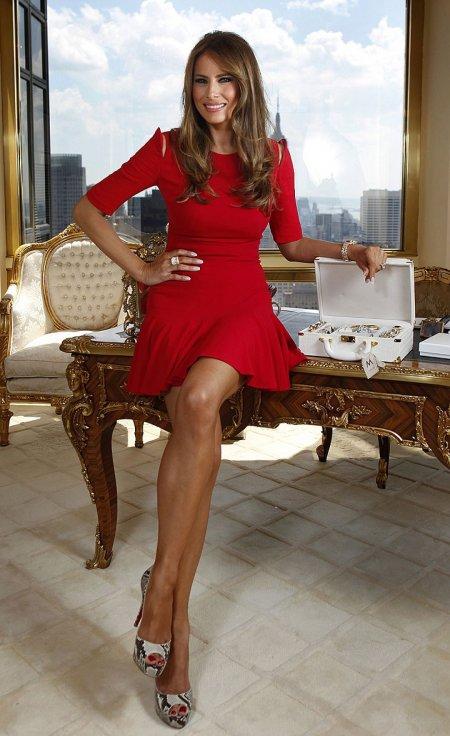 Жена новоизбранного президента США (ФОТО)