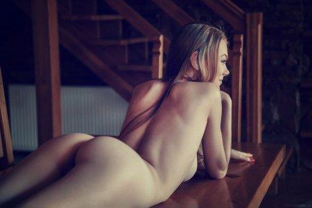 Рыжая прелесть на кухонном столе (ФОТО)