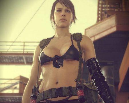 Молчунью из Metal Gear Solid нанизывают на ствол (ВИДЕО)