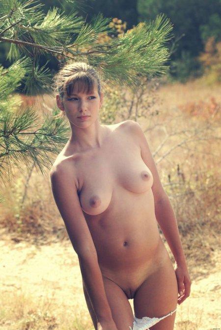 Отличная фотосессия в лесу (ФОТО)