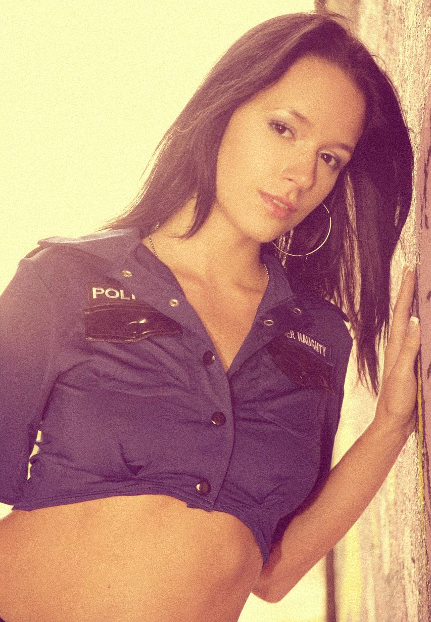 Работницу милиции порно