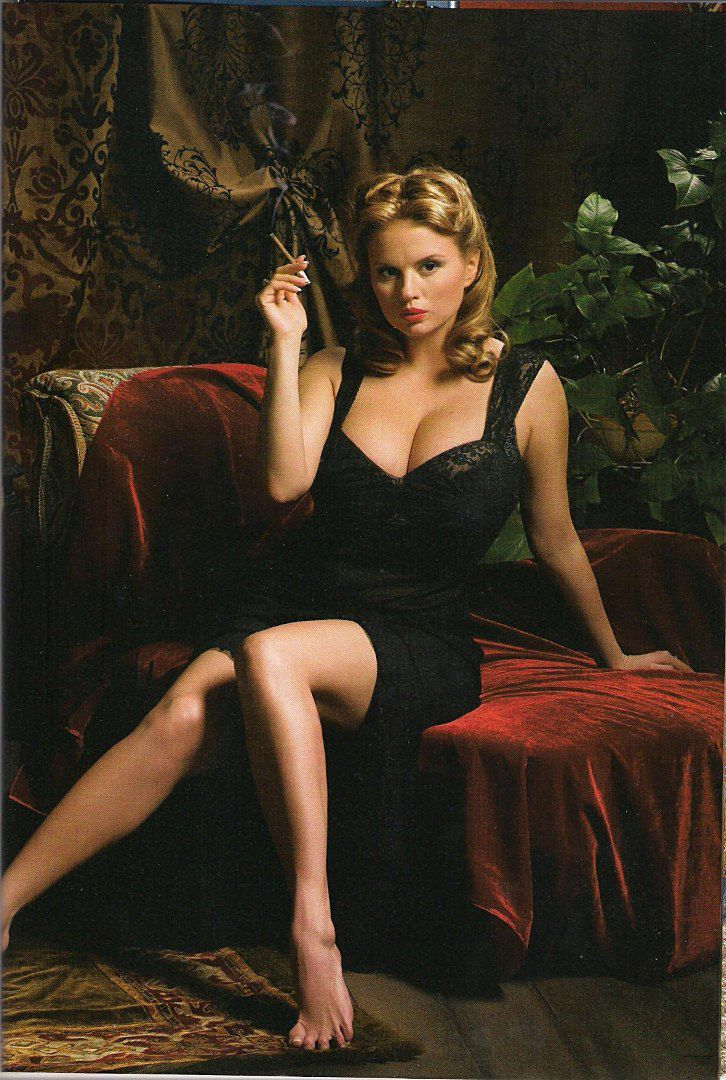 Порно фото с Настасьей Самбурской