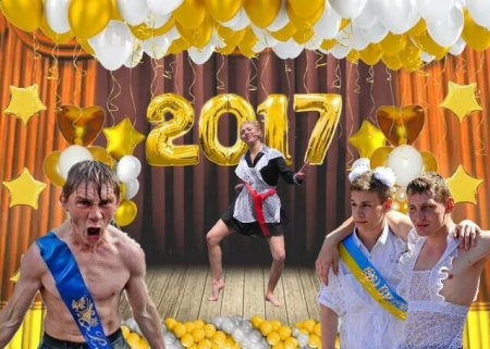 Новые кадры с выпускницами 2017 (ФОТО)