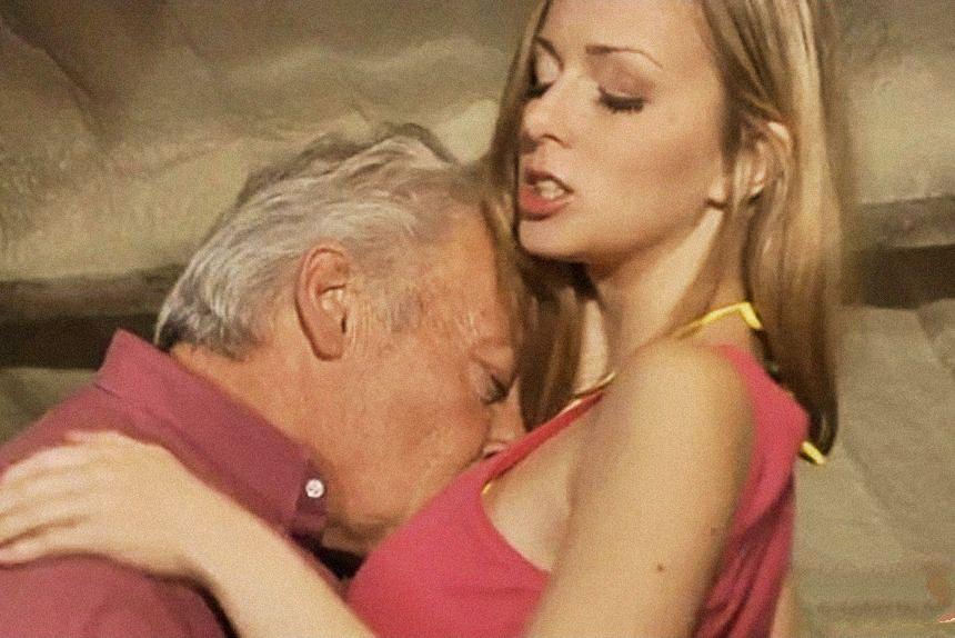 Видео порно старый хуй