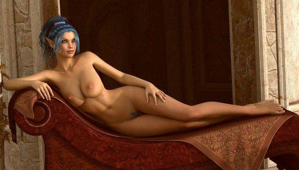картинки голая эльфийка эро