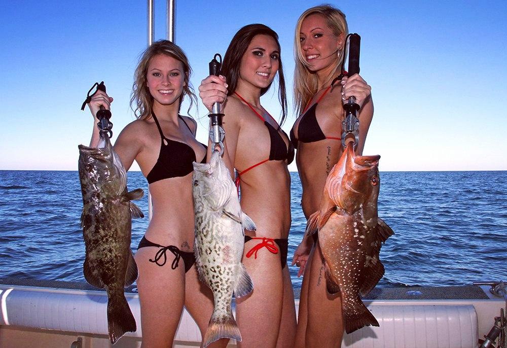 Порно рыбачки