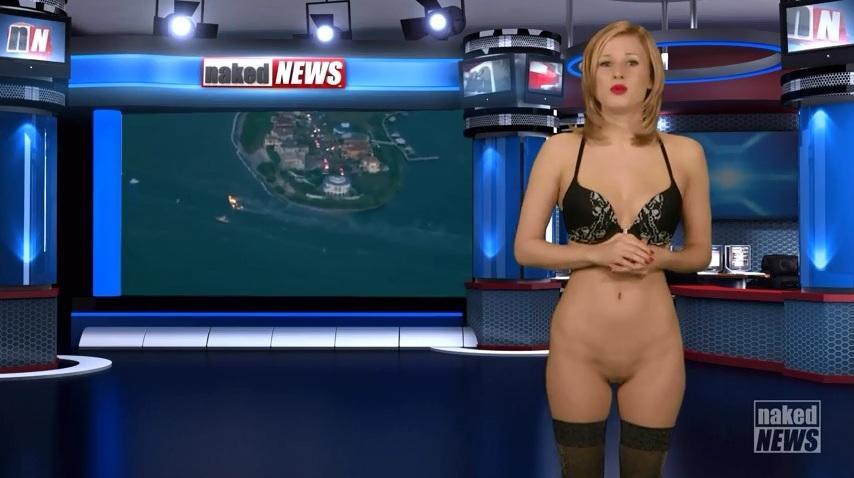 Секс телеведущие голышом в прямом эфире при