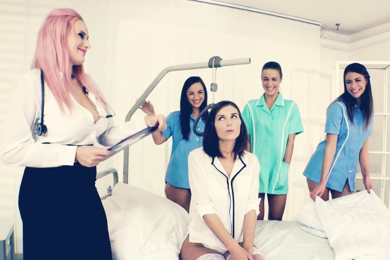 Медсестры Групповое Порно Видео